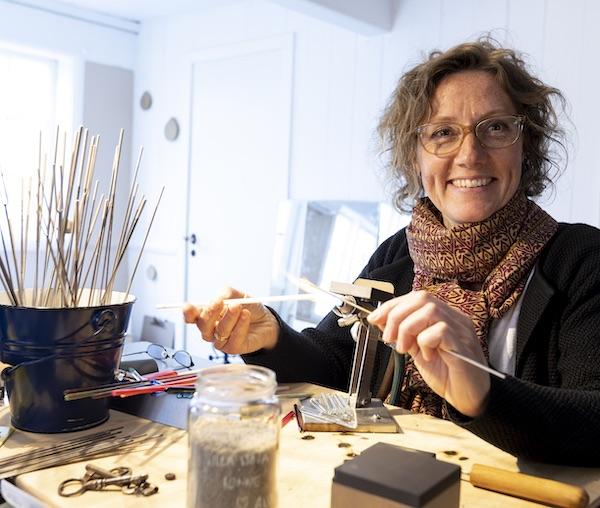 MayB håndlavet glassmykker fra Bornholm